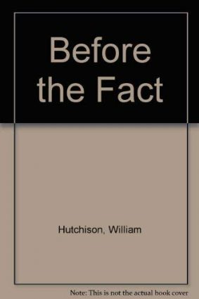 Before the Fact ISBN: 9780333662472
