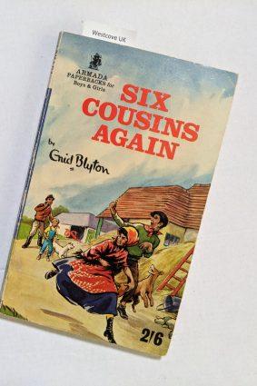 Six Cousins Again Enid Blyton Armada books 1960 ISBN: 9780006916215