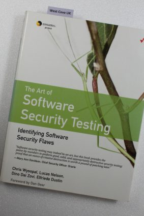 Art of Software Security Testing. Identifying Software Security Flaws: Identifying Software Security Flaws ISBN: 9780321304865