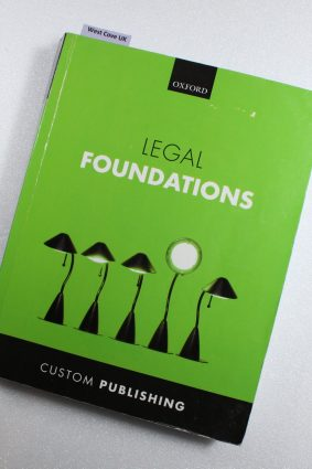 Legal Foundations Textbook Oxford University Press for Exeter University ISBN: 9780198758532
