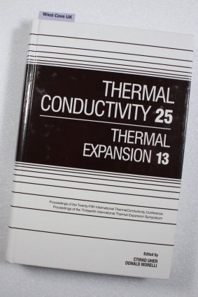 Thermal Conductivity 25/Thermal Expansion 13 ISBN: 9781566768061