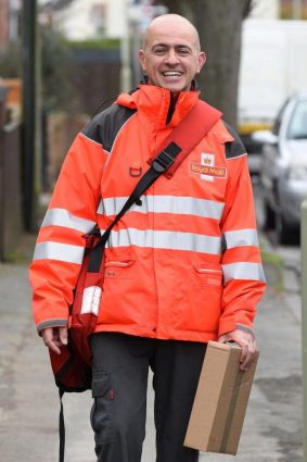 West cove uses Royal mail Delivery
