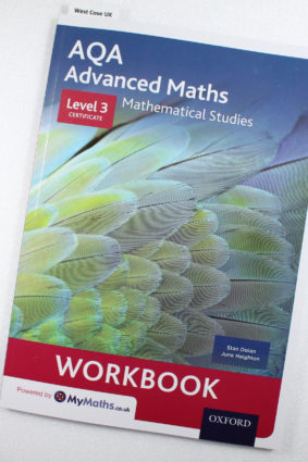 AQA Mathematical Studies Workbook by Haighton JuneDolan Stan ISBN: 9780198417095