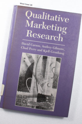 Qualitative Marketing Research by Carson David J.; Gilmore Audrey; Perry Chad; Gronhaug Kjell ISBN: 9780761963660
