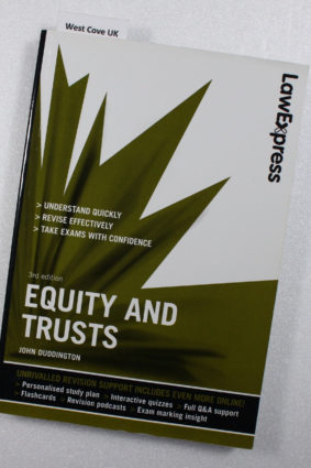 Law Express: Equity and Trusts (Revision Guide) by John Duddington ISBN: 9781408239902