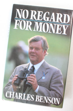 No Regard for Money by Benson ISBN: 9780704326620