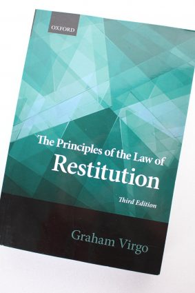 Principles of the Law of Restitution by Virgo Graham ISBN: 9780198726395