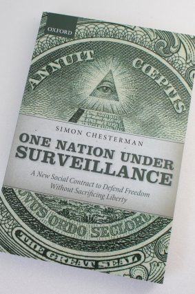 One Nation Under Surveillance: A New Social Contract to Defend Freedom Without Sacrificing Liberty  ISBN: 9780199674954