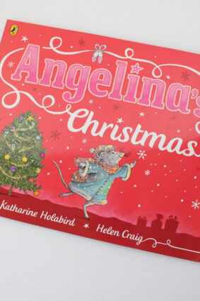 Angelina's Christmas (Angelina Ballerina) by Katharine Holabird  ISBN: 9780723287148