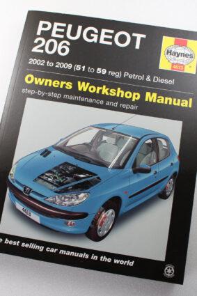 Peugeot 206 02-06 Service & Repair Manual by Haynes ISBN: 9780857339089