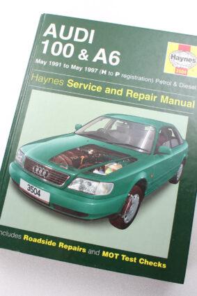 Audi 100 and A6 (1991-97) Service and Repair Manual (Haynes Service and Repair Manuals)  ISBN: 9781859605042