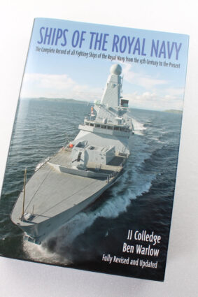 Ships of the Royal Navy: The Complete Record of all Fighting Ships of the Royal Navy from the 15th Century to the Present  ISBN: 9781935149071
