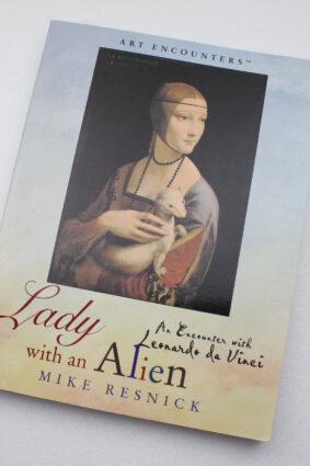 Lady With an Alien: An Encounter With Leonardo Da Vinci (Art Encounters)  ISBN: 9780823004195