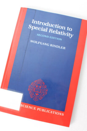 Introduction to Special Relativity (Oxford Science Publications) by Wolfgang Rindler ISBN: 9780198539520